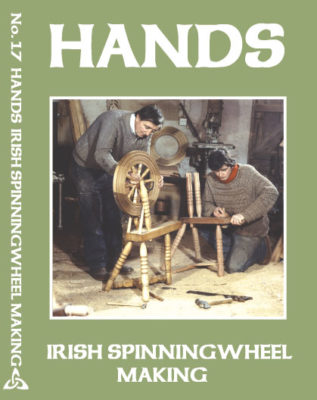 Hands Series Irish Spinningwheel making